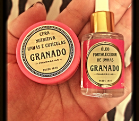 Granado Pink - Cuidando bem das suas unhas!