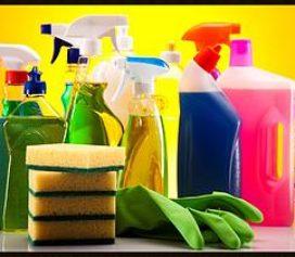 Animais X Produtos de limpeza