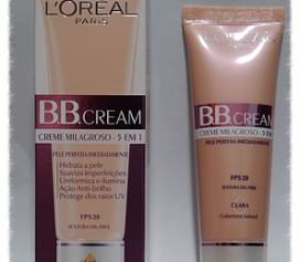 Resenha BB Cream L'Oréal 5 X 1 FPS 20