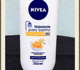 Resenha Nivea Hidratante para Banho Flor de Vanilla e Mel