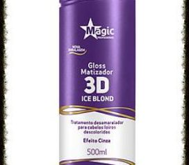 Gloss Matizador 3D Ice Blond Magic Profissional