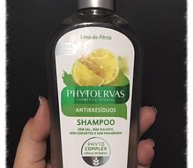 Shampoo Antirresíduos Lima da Pérsia Phytoervas