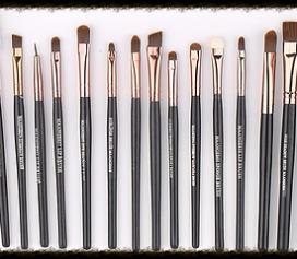 Resenha Kit com 20 pincéis para maquiagem