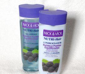 Resenha linha Nutri – Hair da Nick & Vick