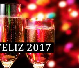 Feliz 2017 para todos nós!
