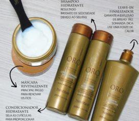 Resenha Linha Oro Therapy – Natumaxx