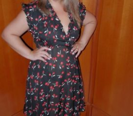 Look do dia: Vestido midi estampa cerejas Digbest