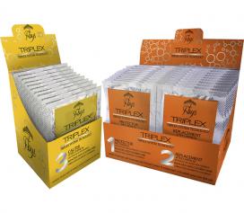 Kit Triplex System Tecnology – Proteção e Recuperação de cabelos após coloração e descoloração.