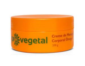 Pro Vegetal Creme de Massagem Corporal Ômega 7