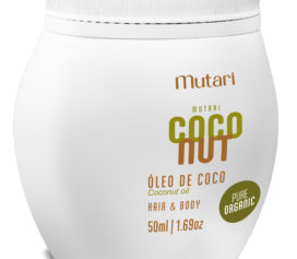 Óleo de Coco Everyday Pure Organic da Mutari hidrata a pele e o cabelo!