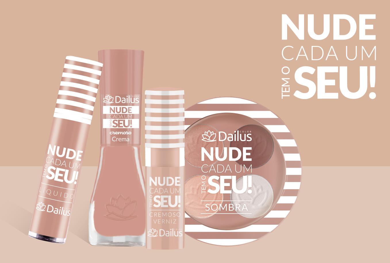 Batom Líquido Nude Cada Um Tem o Seu - Dailus Color