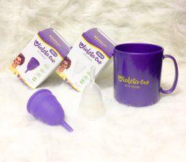 Resenha Coletor Menstrual Violeta Cup!