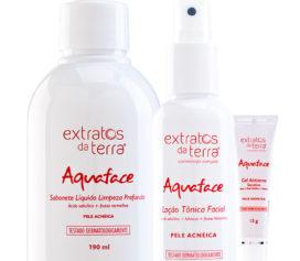 Conheça o Aquaface Antiacne, tratamento rápido e intensivo para acne.