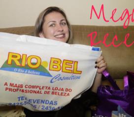Mega recebidos Rio Bel Cosméticos!