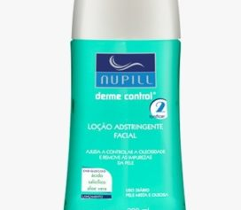 Loção Adstringente Facial Nupill Derme Control.