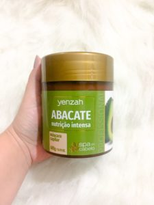 Spa do Cabelo Abacate Yenzah