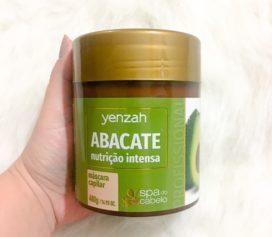 Resenha Spa do Cabelo Abacate da Yenzah.