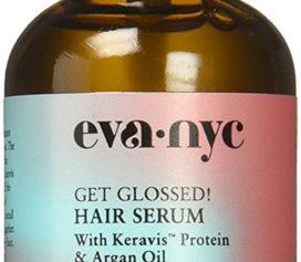 Eva NYC apresenta o Get Glossed! Hair Sérum tratamento que fortalece e protege os fios do calor excessivo.