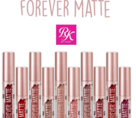 RK by KISS NY lança linha de batom líquido Forever Matte com dez cores incríveis!