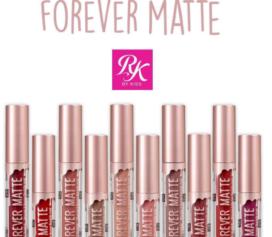 RK by KISS NY lança linha de batom líquido Forever Matte com dez cores incríveis!
