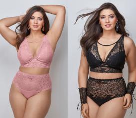 Lançamento coleção plus size DeMillus traz sensualidade e beleza!