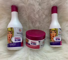 Testei a linha Perfect Blond da Beauty Hits.