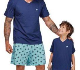 Pijamas tal pai, tal filho DeMillus!