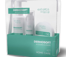 Conheça o kit Dermosoft Antioleosidade da Extratos da Terra.