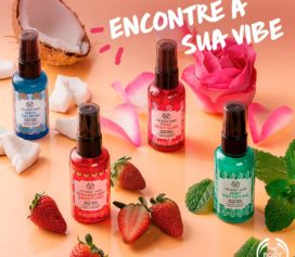 The Body Shop lança Face Mist Vegano.