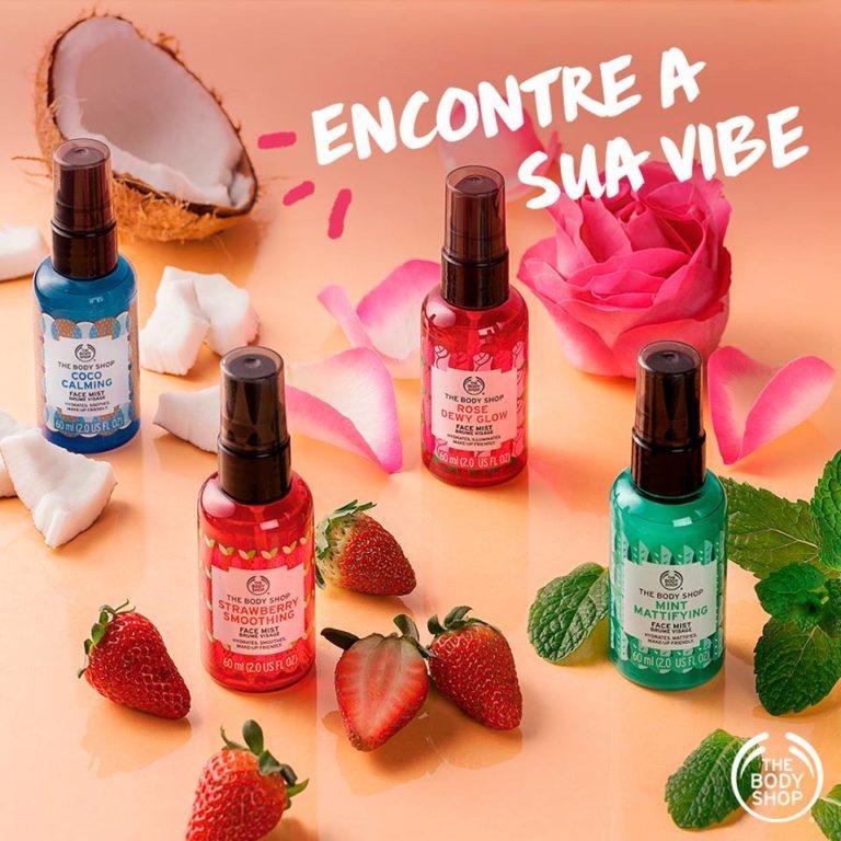 Tem Na Web - The Body Shop lança Face Mist Vegano.