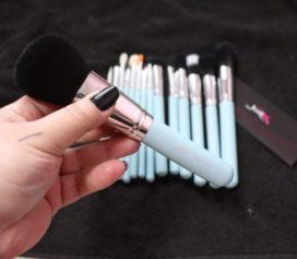 Kit de 15 pincéis de maquiagem Jessup Beauty.