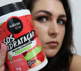 Máscara S.O.S Hidratação Turbinada Salon Line.
