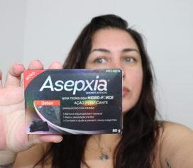 Sabonete Asepxia Carvão Detox.