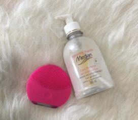Sabonete líquido com perfume Median.