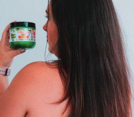 Máscara Maria Natureza Leite de Coco Salon Line